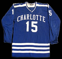 Eastern Hockey League - Charlotte Checkers Jersey - Allie Sutherland