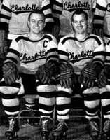 Eastern Hockey League - Charlotte Clippers Road Uniforms 1956-60