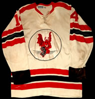 Eastern Hockey League  - Jersey Devils jersey 1964-66 #14