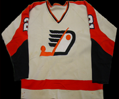 Eastern Hockey League  - Jersey Devils 1972-73 Home Jersey