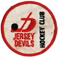 Eastern Hockey League  - Jersey Devils logo (1970-72)