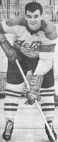 Eastern Hockey League - 1950s White Jersey - Don Hall