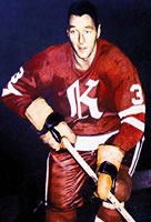 Eastern Hockey League - Knoxville Knights Dark Uniform - Don Labelle