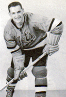 Eastern Hockey League - Johnstown Jets Late 1950s Light Uniform - Dick Roberge