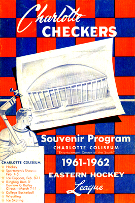 Charlotte Checkers 1961-62 Program