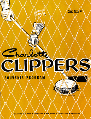 Charlotte Clippers Program - Click for Larger View