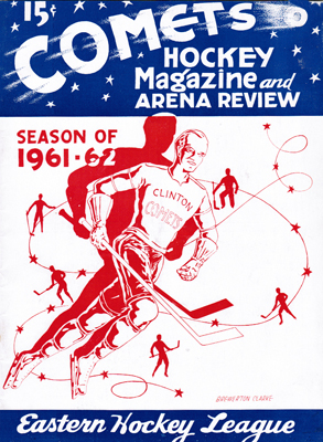 Clinton Comets Program 1961-62