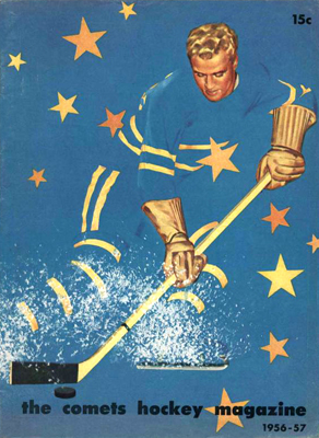 Eastern Hockey League - Clinton Comets 1957-58 Program - Click to Enlarge