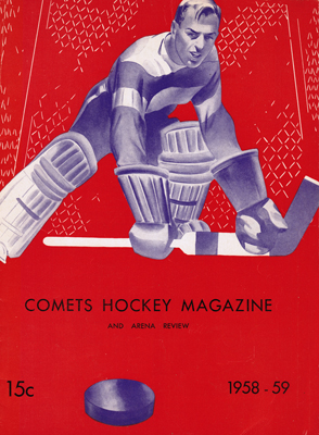 Clinton Comets Program 1958-59