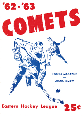 Clinton Comets Program 1962-63 Eastern Hockey League - Click to Enlarge