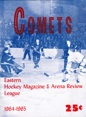 Clinton Comets Program 1964-65 - Eastern Hockey League - Click to Enlarge