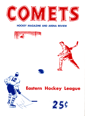 Clinton Comets Program 1965-66 Eastern Hockey League - Click to Enlarge