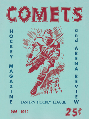 Clinton Comets Program 1966-67 Eastern Hockey League - Click to Enlarge