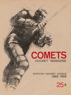Clinton Comets Program 1968-69 Eastern Hockey League - Click to Enlarge