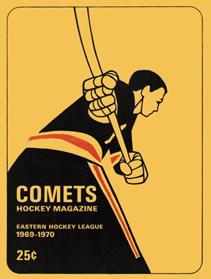 Clinton Comets Program 1969-70 Eastern Hockey League - Click to Enlarge