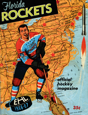 EHL Florida Rockets Program 1966-67