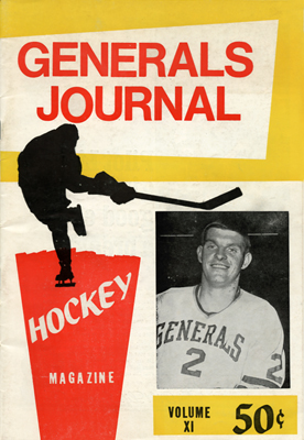 Greensboro Generals Journal Program  1969-70 Larry Gibbons
