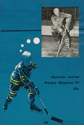 Greensboro Generals Program 1965-66 TheEHL.com