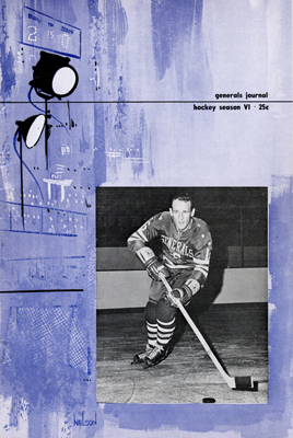 Greensboro Generals 1963-64 Program - Garry Sharp - EHL - Click to Enlarge