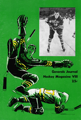 Greensboro Generals 1966-67 Program - Pete Loveless - EHL - Click to Enlarge