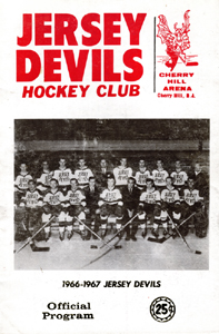 Jersey Devils 1966-67 Program - Click to Enlarge