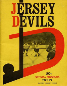 Jersey Devils 1971-72 Program - Click to Enlarge