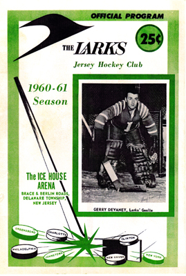 Jersey Larks 1960-61 Program - Click to Enlarge