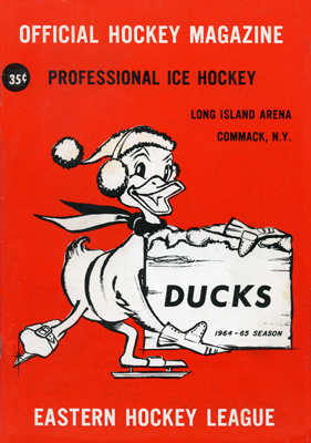 Long Island Ducks Program 1964-65 TheEHL.com