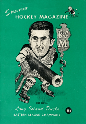 Long Island Ducks Program 1965-66 Eastern Hockey League