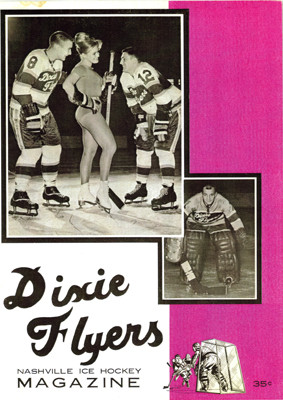 Nashville Dixie Flyers Program  - Click to Enlarge