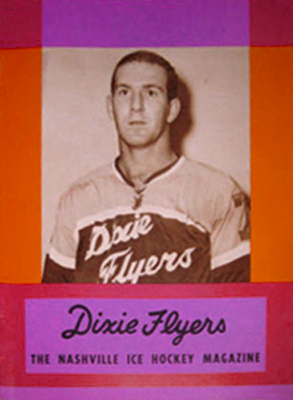 NAshville Dixie Flyers Program 1963-64 Eastern Hockey League EHL