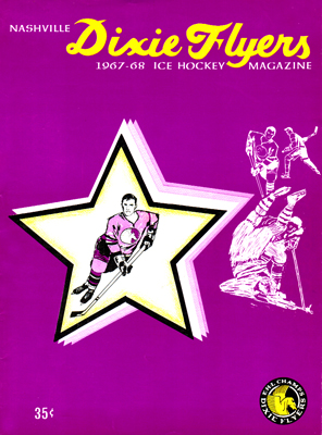 Nashville Dixie Flyers Program 1967-68