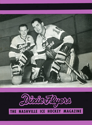NAshville Dixie Flyers Program 1963-64