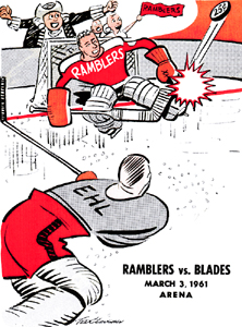 Philadelphia Ramblers 1960-61 Program - Click to Enlarge