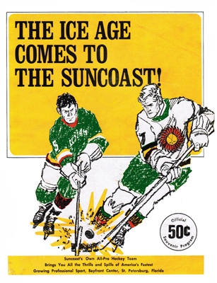 Suncoast Suns 1971-72 Program - Click to Enlarge