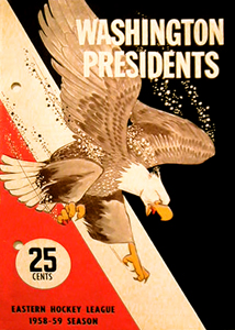 Washington Presidents 1958-59 Program