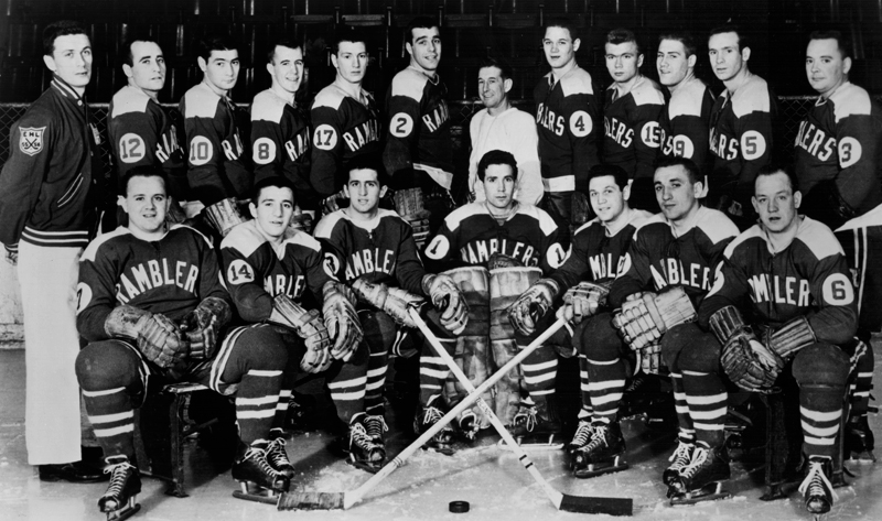 Philadelphia Ramblers Team Photo 1956-57